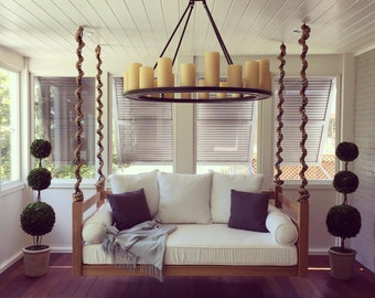 """Porch Swing: The """"ION"""" Swing Bed -- FREE SHIPPING! (Bedswing)"""