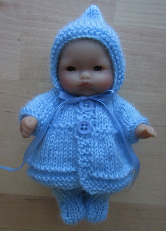 Knitting Patterns For 8 Berenguer Doll Clothes : Knitting Pattern for 5 Berenguer Dolls Clothes