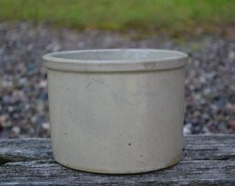 Vintage Earthenware Butter Crock