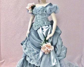 Ms. Jennifer, Finished Victorian Porcelain Doll