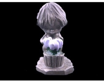 Hallmark Little Gallery Springtime Joy Pewter Figurine