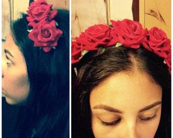 Custom Rose headband super cute!!