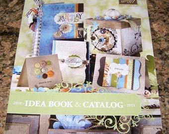 Stampin' Up Idea Book Catalog 2010-2011  - New