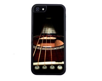 Awesome Guitar Inspired Case Design For iPhone 4/4s, 5/5s, 5c, 6/6s, 6/6s Plus, 7 or 7 Plus.