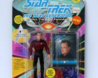 1993 Star Trek Q Figurine NEW IN Box The Next Generation Space The Final Frontier Star Trek Collectible Vintage Star Trek