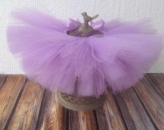 Lavender {Tutu} dark lavender tutu || baby girl tutu skirt || newborn tutu || birthday tutu || photo prop || flower girl tutu || nb-24 mos