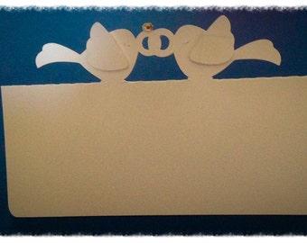 Love Bird Placecards