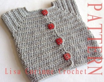Baby Sweaters To Crochet Patterns : Baby Sweater PATTERN Baby Boy Crochet Sweater PATTERNS