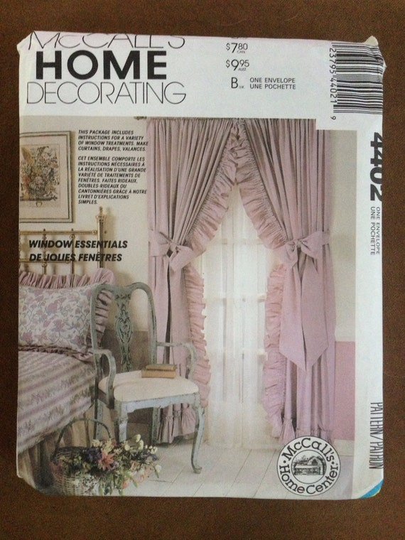 Home Decor Sewing Patterns 28 Images Oop Mccall S Sewing Pattern Home D 233 Cor Window