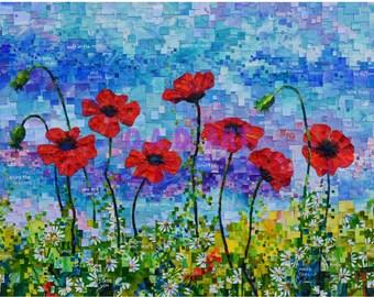 Seven Poppies
