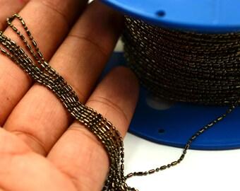 33  ft.10 Meter Gunmetal 1.2 mm Ball Chain