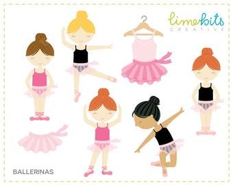 Ballerina Girls Clip Art