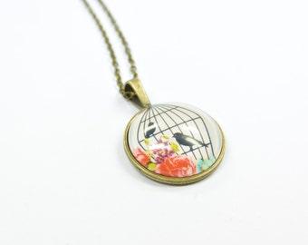 Necklace Birdcage
