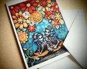 PDF Best Friend Printable Blank Greeting Card Girlfriend Sister Cheer Up Thank You Instant Download digital DIY