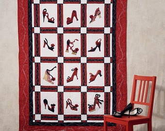 """McCalls Quilt Sewing Pattern 54 1/2"""" W X 78"""" Long, New Uncut Sewing Pattern"""