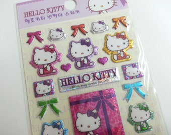 3D Hello Kitty and Ribbons - 1 Sheet