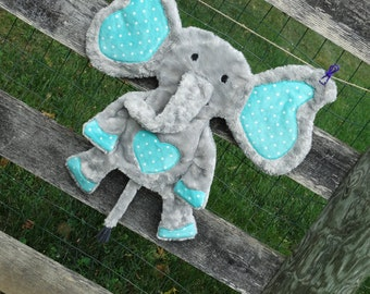 Ollie the Elephant-MADE TO ORDER