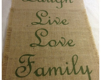 """Burlap Placemats 14"""" x 18"""" - set of 4 or 6 or 8 - Holiday decorating Home decor"""