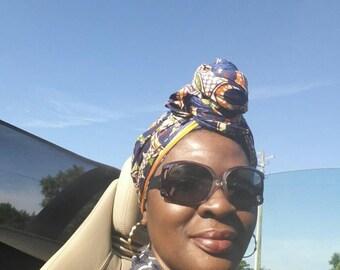 Lonnette urban turban headwrap