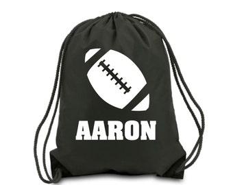 Personalized Drawstring Bag Basketball Nylon Drawstring