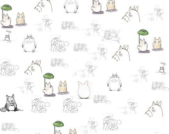 Totoro Digital Scrapbook Page