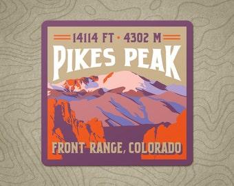 Pikes Peak Decal Sticker