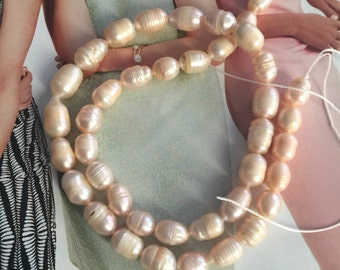 MEAVE Pearl, cultured freshwater, wedding supplies, pearls supplies, Ivory pearls ,PINK pearl, cream pearls (3675KS)