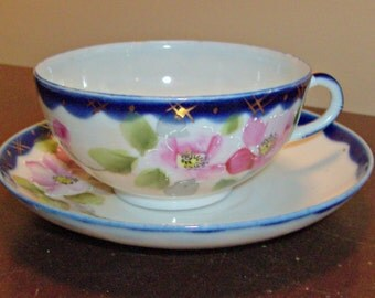 Vintage Japan Teacup and Saucer