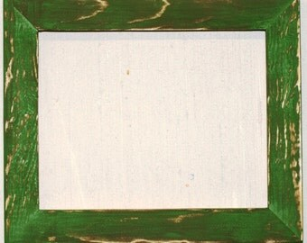 """1-1/2"""" Grassy Field Distressed Picture Frame"""