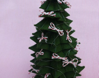 The Christmas tree for the Victorian Mice Family - DIY kit