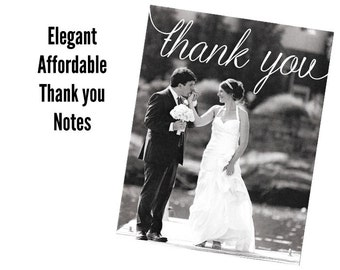 Wedding Photo Thank You Notes Photo Note Cards