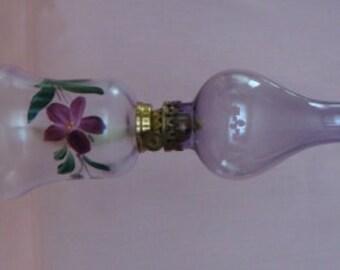 Miniature Oil/Kerosene Lamp Vintage