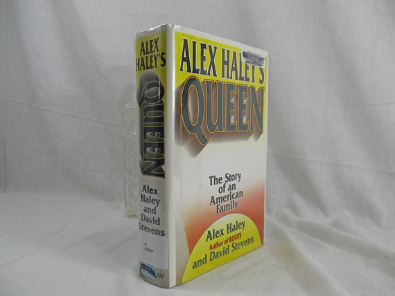 1993 Queen by Alex Haley First Edition Hardcover ex-libres Dust Jacket perfect reading copy Author of Roots Vintage Book