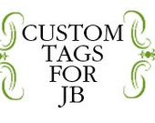 Custom Wishes Note Tags