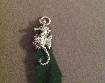 Pendant sea glass seahorse