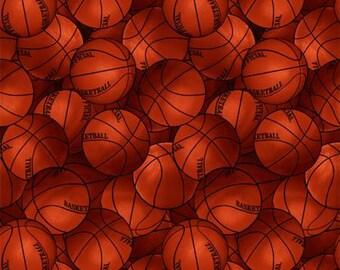 Basketball cotton fabric