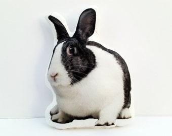 Rabbit Pillow, Easter Bunny, Easter Basket Gift