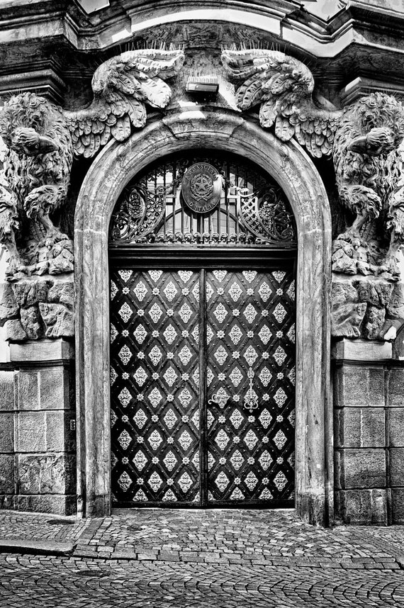 Doors of an old City (Prague)