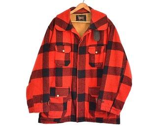 Buffalo Plaid Jacket Etsy
