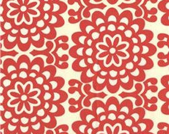Twin Duvet Cover Amy Butler Lotus Cherry