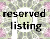 RESERVED LISTING 50 Mini Bunches - Place Card Mini Dried Lavender Bunch