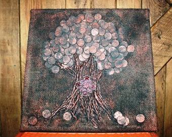 Wisdom Tree - Coin Art