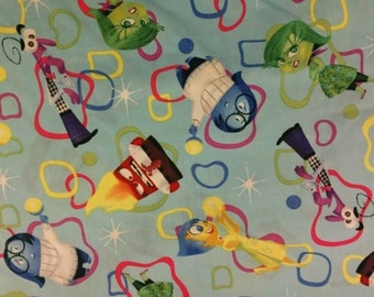 Disney Inside Out Everyday Full of Emotions - Fat Quarter Fabric Cotton Print