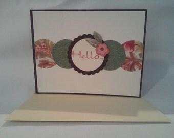 Hello Card A16