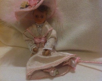 Ooak Miniature Dolls House 12th Scale Victorian Lady