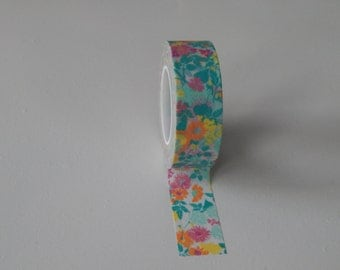 Ditsy Floral Washi tape - UK Seller Flat Rate Shipping