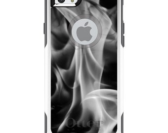 OtterBox Commuter for Apple iPhone 4 4S 5 5S SE 5C 6 6S 7 PLUS - Custom Monogram - Any Colors - Grey Black Flame Fire