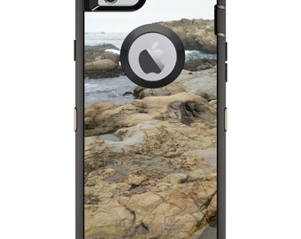 CUSTOM OtterBox Defender Case for Apple iPhone 6 6S 7 8 PLUS X 10 - Personalized Monogram - Point Lobos Reserve