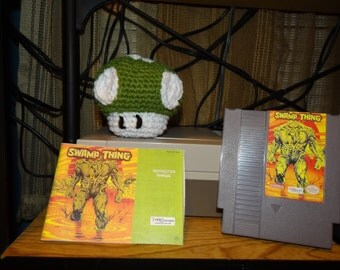 NES Nintendo Swamp Thing Reproduction cartridge w/ free manual (** Case is optional, select option under 'Variations')