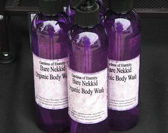 Organic Body Wash, Alcohol Free